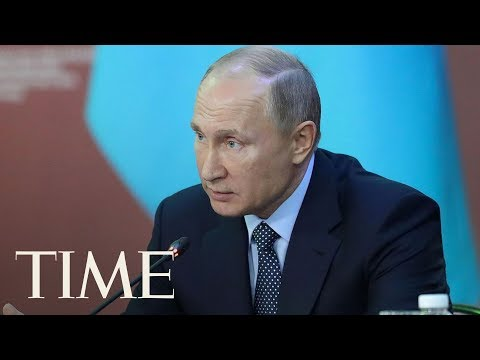 Now Vladimir Putin Is Accusing U.S. Of Meddling In Russia's Upcoming Presidential Election | TIME