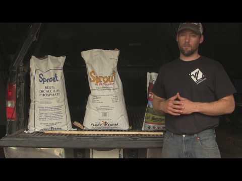 DIY Deer Mineral Recipe