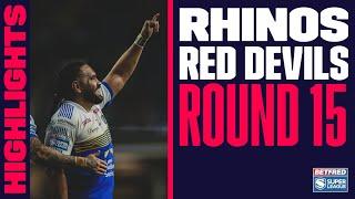 Highlights | Leeds Rhinos v Salford Red Devils, Round 15, 2021 Betfred Super League, 23.07.2021
