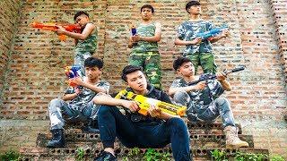 Hihahe Nerf War: SWAT & Police Task Force Nerf Combat Insurgent Team Nerf Movies
