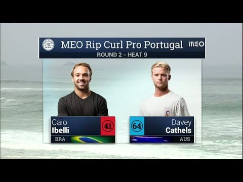 Meo Rip Curl Pro Portugal: Round Two, Heat 9