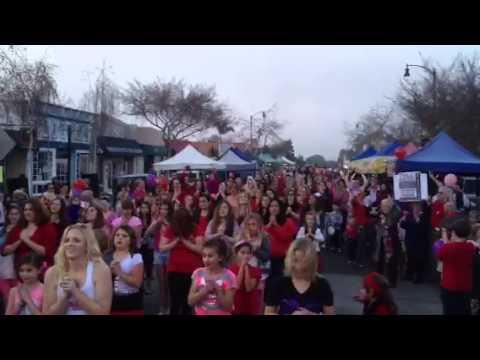 1 Billion Rising flash mob - El Segundo, CA