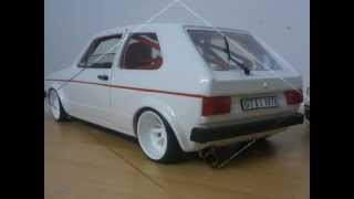 Modellauto-Tuning VW Golf I GTI 1:18