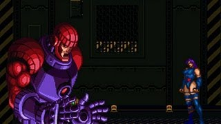 (SNES) X-Men Mutant Apocalypse, All bosses + Ending