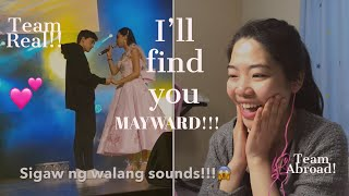 MAYWARD I'll find you | reaction video | team abroad
