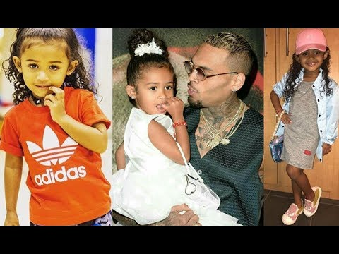 Remember Chris Brown's Daughter-Royalty Brown  Look What She's Doing Today