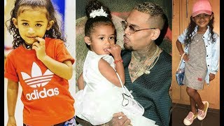 Remember Chris Brown's Daughter-Royalty Brown  Look What She's Doing Today 2017