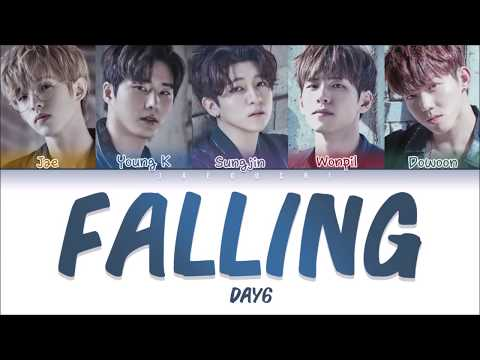 DAY6 - FALLING LYRICS (Color Coded Eng/Rom/Kan)