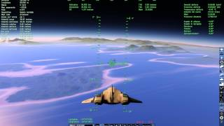 SpaceEngine 0.972 planet landing