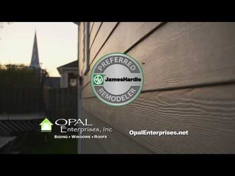 Choose James Hardie Siding installed by Opal Enterprises in Naperville!