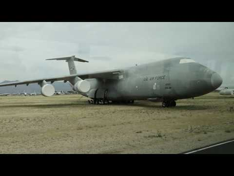 Watch a video tour of the Davis-Monthan AFB Boneyard tour. 2 hour tour condensed to 21 mins