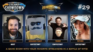 Streamer Showdown #29 Hearthstone Edition (feat. Disguised Toast, Trump, Pathra and Noxious)