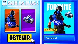 VOICI the SKIN PLAYSTATION PACK PLUS SAISON 8 on Fortnite!