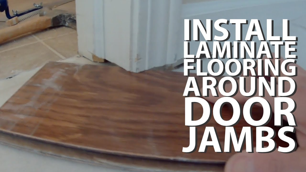 Engineered Flooring Around Door Jambs