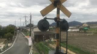 宇野線(普通)車窓 茶屋町→宇野/ 213系 茶屋町1311発