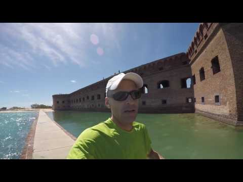 First Loop of the Marathon at Dry Tortugas National Park