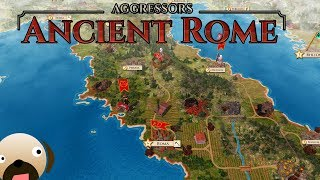 Roman Civilization 4X Strategy Game - Aggressors Ancient Rome Gameplay