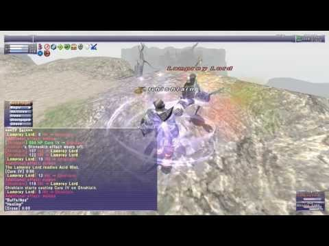 FFXI - Lamprey Lord (Bastok Path T2 VNM) - WHM Solo