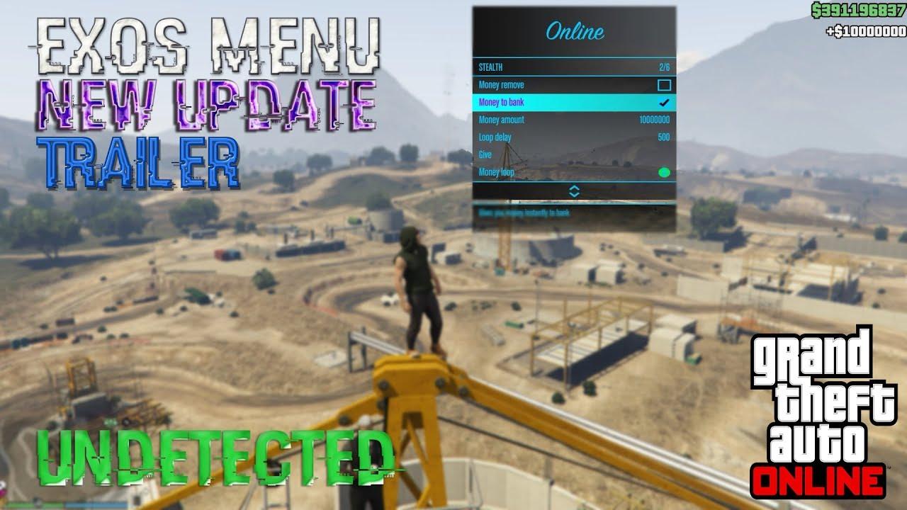 GTA V PC Online 1.42 Exos Menu 2.0 - Internal PAID Hack ... -