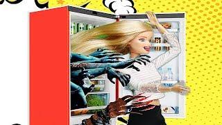 Барби ужастик- холодильник монстр! Мультик для детей!