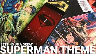 Setting up a Superman theme for Android