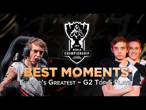 Europe's Greatest – G2 Top 5 Plays