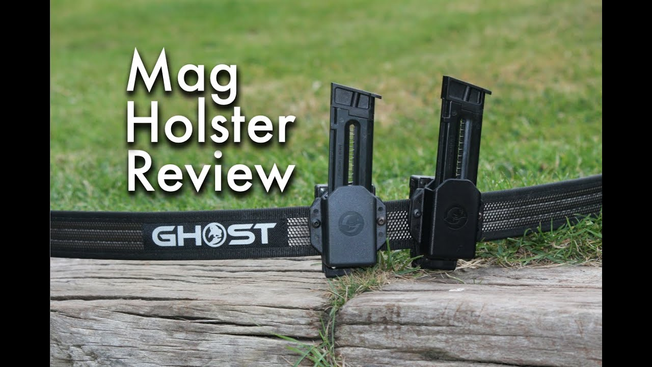 Ghost Single Stack Pisol Magazine Holster - Product Review