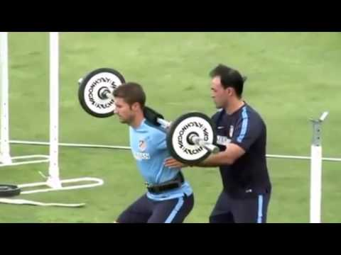ATLETICO MADRID - CIRCUIT TRAINING