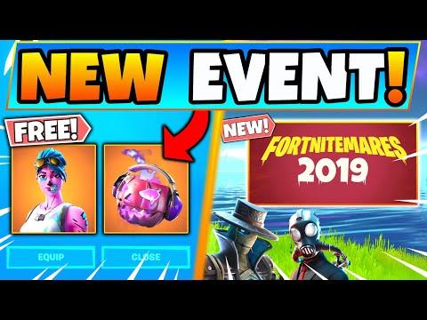 FORTNITEMARES 2019: NEW EVENT + SKINS In Fortnite! (Battle Royale Update)