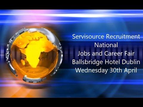 National Jobs and Career Fair Ballsbridge Hotel Dublin April 30th