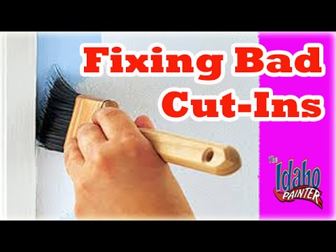 cutting in painting tips how to paint cut in tips. Black Bedroom Furniture Sets. Home Design Ideas