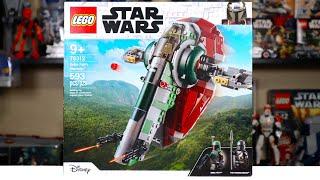 LEGO Star Wars 75312 BOBA FETT'S STARSHIP (Slave 1) Review! (2021)