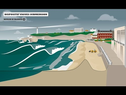 Biarritz - Alerte Vagues-Submersion