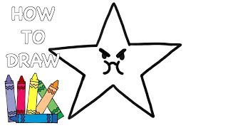 How to Draw a STAR - Easy Drawing Lesson for Kids