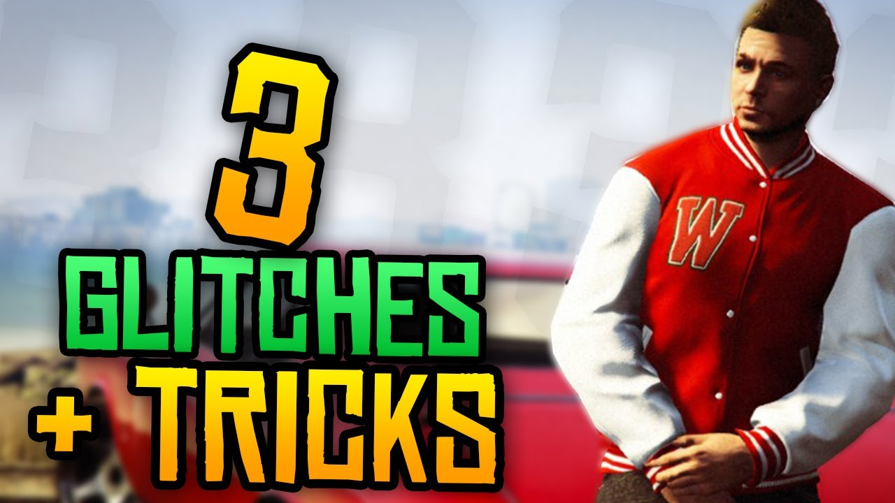 GTA 5 online - TOP 3 GLITCHES+TRICKS - YouTube