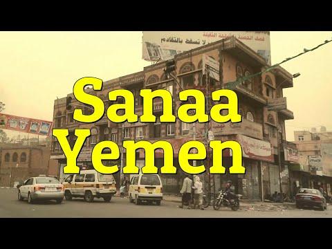 Driving around in Sana'a, Yemen