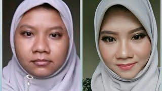 Makeup Kulit sawo matang gelap untuk pemula Makeup tanned dark skin for beginner
