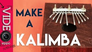 Homemade musical Instrument that works - Kalimba