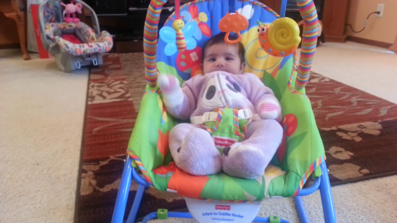 Review Fisher Price Infant To Toddler Rocker Youtube Pink