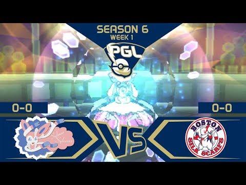 PGL | Season 6 | Week 1 | Sylmar Sylveons (0-0) VS Boston Silk Scarfs (0-0)