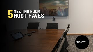 5 Essential Meeting Room Products
