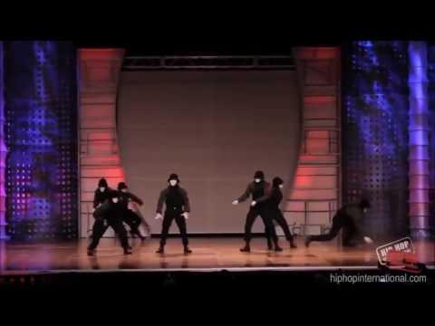 Танцы Jabbawockeez   HIP HOP Чемпионат мира по хип хопу