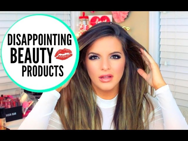 Disappointing Beauty Products! 2016 | Casey Holmes