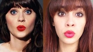 Zooey Deschanel Makeup Tutorial Thumbnail