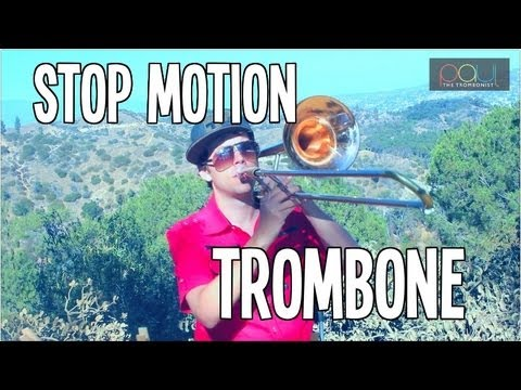 Trombone Stop Motion - Flight of the Bumblebee