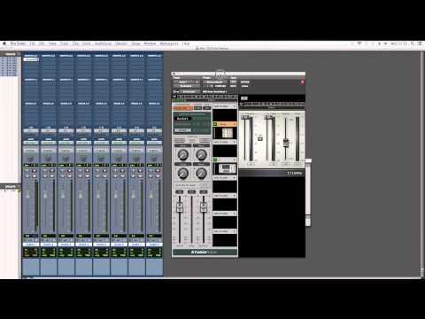 DiGiGrid SoundGrid and Studio Rack Demonstration