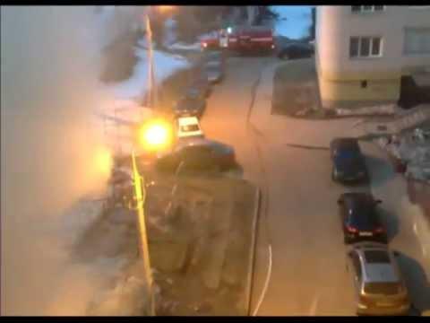 В Ярославле на Суздалке сгорела машина