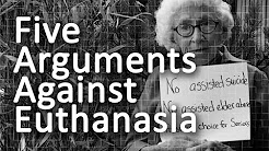 thesis being against euthanasia Legal perspective on euthanasia / analsis this 10 page research paper explores the legal implications of euthanasia specifically discussed are the historical.