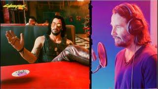 CYBERPUNK 2077 - All Johnny Silverhand / Keanu Reeves Scenes