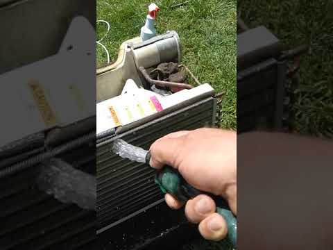 How to clean a window AC units basics